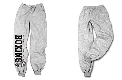 Dirty Ray Arti Marziali MMA Jiu-Jitsu Pantaloni della Tuta Uomo con Fondo Elasticizzato SDBJJ1S